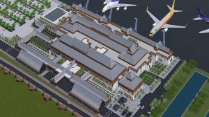 """เปิดภาพ """"เทอร์มินัลใหม่ สนามบินตรัง"""" สวยเก๋ เน้นเอกลักษณ์ใต้ ผสานความทันสมัย-รักษาสิ่งแวดล้อม"""