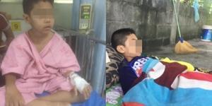 """ครอบครัววอนผู้ใจบุญ! ช่วยเหลือ """"น้องโอชิ"""" ป่วยเนื้องอกในสมอง ไม่มีเงินรักษา"""
