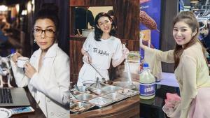 เซเลบเจ้าของร้านอาหาร เบนเข็มลุยธุรกิจลุยฟูดดีลิเวอรี