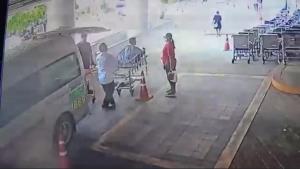 ระทึก! ถังออกซิเจนรถพยาบาลระเบิด! ขณะส่งผู้ป่วยหน้า รพ.ในสุพรรณบุรี (ชมคลิป)