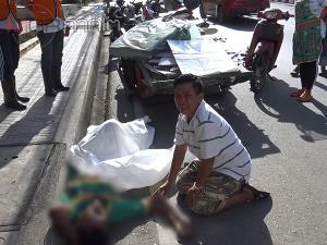 สลด! ชายเก็บของเก่าขายช็อกเสียชีวิตกลางถนนเมืองสงขลา