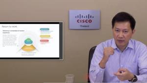 Cisco เตรียมเครื่องมือรับการทำงานหลังยุคโควิด-19