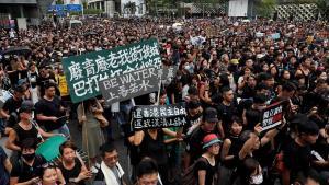 In Clip : ตำรวจฮ่องกงแบนประท้วงใหญ่ต้าน กม.ความมั่นคงใหม่จีน