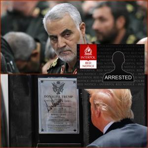 """In Clip: ฮือฮา!! ทรัมป์ถูกอิหร่านเตรียมขอ """"ตำรวจสากล"""" ออกหมายจับคดีลอบสังหารสุไลมานี"""