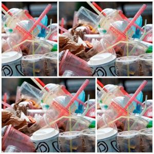 """เครียด!! ขยะพลาสติกเพิ่ม15% """"ดร.ธรณ์"""" วอนร้านกาแฟปลดล็อค ลูกค้าใช้แก้วส่วนตัว"""