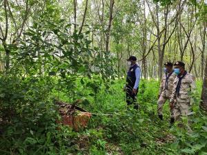 อส.ประจวบฯ จับบุหรี่เถื่อนข้ามจากพม่า จำนวน 1,600 ซอง