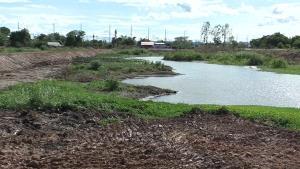 ชาวหันคาร้องสื่อ มีการลักลอบถมดินรุกแม่น้ำท่าจีน สุดท้ายเป็นที่ดินมีเอกสารสิทธิถูกต้อง