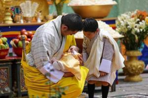 กษัตริย์จิกมีแห่งภูฏาน ทรงประกาศพระนามพระราชโอรสพระองค์ที่ 2