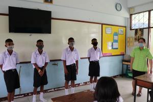 ปิง วัง ยม น่าน ฝาแฝดชาย 4 คน เข้าเรียน ม.1 พร้อมกัน ทำเพื่อนๆ งงกันไป