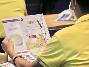 กรมทางหลวงชนบทลงพื้นที่ จ.สงขลา แนะนำโครงการสำรวจออกแบบส่วนต่อขยายถนนสาย สข.4040