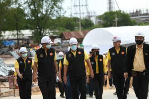 ผู้ว่าฯ อัศวิน ตรวจอุโมงค์ระบายน้ำบึงหนองบอน คืบหน้าแล้ว 60.58% คาดก่อสร้างแล้วเสร็จปลายปี 64