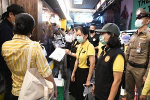 กทม.กวดขันร้านค้าย่านสีลม วอนปฏิบัติตามข้อกำหนดทางราชการอย่างเคร่งครัด ป้องกันแพร่เชื้อโควิด-19