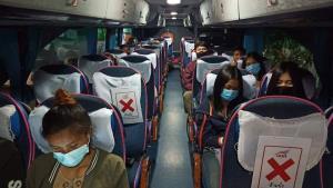 คมนาคมเผย ปชช.ใช้รถสาธารณะเดินทางกลับภูมิลำเนา-ท่องเที่ยว เกินเป้ากว่า 7%