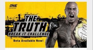 """ONE เปิดตัวเกม """"The Truth"""" โชว์พลังประหนึ่งนักสู้ชื่อดัง"""