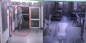 พยาบาลสาวช็อก! เจอหนุ่มหื่นถอดเสื้อบุกเข้า รพ.กลางดึก โชคดีญาติคนไข้ช่วยได้ทัน