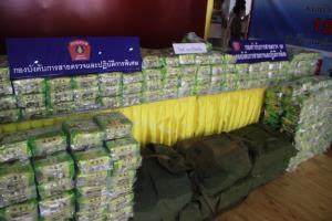 ป.ป.ส.เข้มชายแดนอีสาน พบลำเลียงยานรกเข้าไทยถี่ขึ้น จับกุมของกลางเพียบ