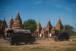 โจรออกปล้นวัตถุโบราณเจดีย์พุกามหลายสิบแห่ง ตำรวจพม่าจัดกำลังเฝ้าระวังทั้งวันทั้งคืน