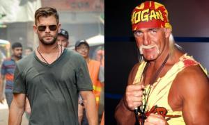 """พระเอก """"ธอร์"""" สวมวิญญาณ """"ฮัลค์ โฮแกน"""" ตำนานมวยปล้ำ WWE ขึ้นจอแก้ว"""