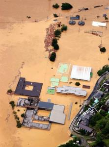 """""""ฝนพันปี"""" ถล่มญี่ปุ่น สั่งอพยพ 1.3 ล้านคน (ชมคลิป)"""