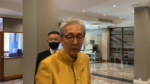 """""""สมคิด"""" เปิดทำเนียบรับเจโทร เผยยังมั่นใจลงทุนไทยไม่ย้ายฐาน หวัง ศก.ครึ่งปีหลังฟื้นตัว"""