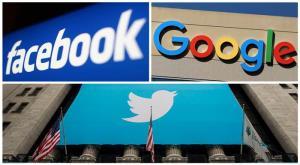 เฟสบุ๊ค (Facebook) กูเกิล (Google) และทวิตเตอร์ (Twitter) ระงับชั่วคราวในความร่วมมือใดๆกับรัฐบาลฮ่องกงหลังจากที่รัฐบาลจีนได้รับรองกฎหมายความมั่นคงฮ่องกง (แฟ้มภาพ รอยเตอร์ส)