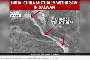 ดาวเทียมฯ เผยทหารจีนถอนกำลังในหุบเขากัลวาน พักความขัดแย้ง
