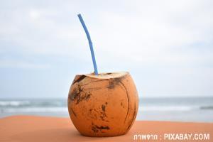 ประโยชน์ดี ๆ ของการดื่มน้ำมะพร้าว ที่ไม่ได้มีดีแค่อร่อย