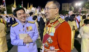 ภาพ นายปิยบุตร กับ ม.จ.จุลเจิม ยุคล (ท่านใหม่) จากเฟซบุ๊ก Suphanat Aphinyan