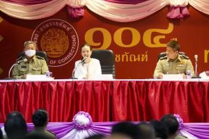เมืองไทยประกันภัย มอบกรมธรรม์ประกันภัยอุบัติเหตุ จนท.กรมราชทัณฑ์