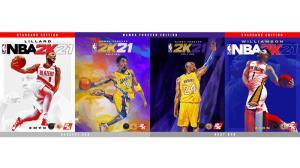 """""""โคบี้ ไบรอันท์"""" นำทีมนักบาสซูเปอร์สตาร์ขึ้นปก NBA 2K21"""