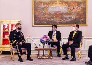 ผบ.ทบ.มะกันพบนายกฯ ย้ำไทย-สหรัฐฯ จะเดินหน้าความร่วมมือด้านความมั่นคงรอบด้าน