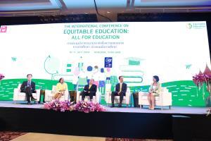 ไทยจับมือนานาชาติ ริเริ่มเครือข่ายเพื่อความเสมอภาคทางการศึกษา  ชวนทั่วโลกเดินหน้า AllFor Education