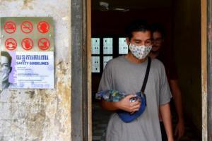 เขมรพบผู้ติดเชื้อโควิด-19 เพิ่ม 15 ราย กลับมาจากซาอุฯ ทั้งหมด