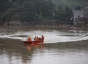 เจียงซีสั่งรับมือ 'น้ำท่วม' ขั้นสูงสุด ปชช.เดือดร้อน 5 ล้านคน พืชผลเสียหาย 2.7 ล้านไร่
