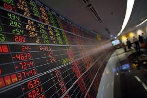 หุ้นปิดลบสวนทางตลาดต่างประเทศ กังวลสถานการณ์โควิดในประเทศ