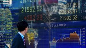 ตลาดหุ้นเอเชียปรับลบ วิตกโควิด-19 ระบาดหนัก, จับตาข้อมูลการค้าจีน