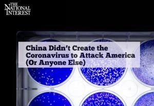 นิตยสารการเมือง ปัด 'จีนสร้างโควิด-19 โจมตีอเมริกา' ด้วย 3 เหตุผล
