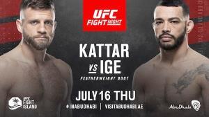 จุดไฟใส่เกาะ! UFC จัดมวยเด็ดรุ่นเล็กขึ้นคู่เอก Fight Night แรกแห่ง Fight Island