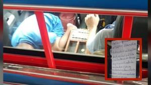 ชายขับสองแถว มีนบุรี-หัวตะเข้ วอนขอความช่วยเหลือระบายความลำบากต้องเลี้ยงลูกพิการบนรถ