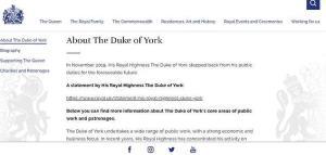 """มรสุมชีวิต """"เจ้าชายแอนดรูว์"""" เผชิญข่าวฉาว ถูกกดดันทุกทิศทาง แถมโดนราชวงศ์สั่งปิดเว็บไซต์แบบไร้เยื่อใย"""