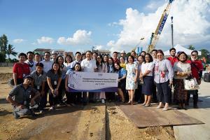SISB ธนบุรีเริ่มก่อสร้างอาคารเรียนชั้นมัธยมศึกษาที่พร้อมสรรพทันสมัย