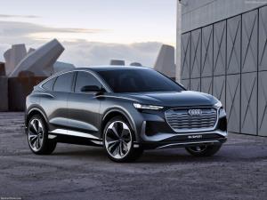 ออดี้  Q4 Sportback e-Tron Concept  ต้นแบบวันนี้ขายจริงวันหน้า