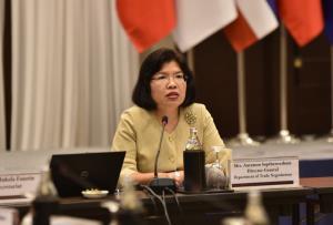 อาเซียนถกเจ้าหน้าที่อาวุโส หารือแผนกู้เศรษฐกิจหลังโควิด-19 พร้อมคุย 11 ชาติขยายค้าขาย