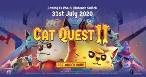 """ทาสแมวต้องโดน! """"Cat Quest - Pawsome Pack"""" วางจำหน่ายบน PS4 และสวิตช์ 31 ก.ค.นี้"""