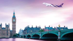 """""""การบินไทย"""" ขายตั๋วไปลอนดอน 3 เที่ยวบิน แต่ขากลับไม่มี คาดต้องรับคนไทยกลับบ้าน"""