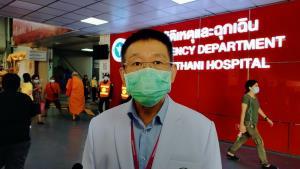 หมอ-พยาบาล รพ.อุดรฯ ขวัญกระเจิง 4 หนุ่มบาดเจ็บเข้าฉุกเฉินกลางดึกหนีคู่อริทำร้าย