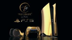 """รวยหนักมาก! """"PS5"""" โผล่รุ่นชุบทอง 24K"""