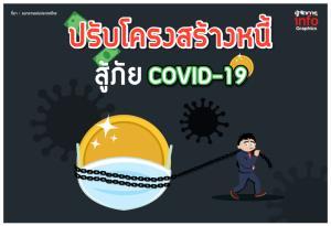 ปรับโครงสร้างหนี้ สู้ภัย COVID-19