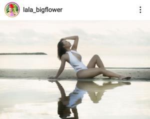 """""""ลาล่า"""" โชว์เอ็กซ์ใส่ชุดว่ายน้ำราคาครึ่งหมื่น ไม่แคร์โดนคนวิจารณ์เละ"""