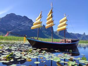 นักท่องเที่ยวแห่ล่องเรือชมสำเภาจีน ชมบัวกลางทุ่งสามร้อยยอด